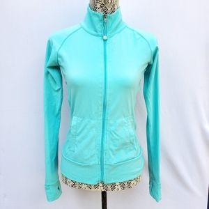 Tuff athletics xs mock neck zip up jacket